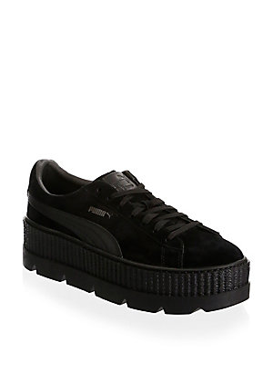 Puma Men's Suede Cleated Creeper Sneakers Black dC19w