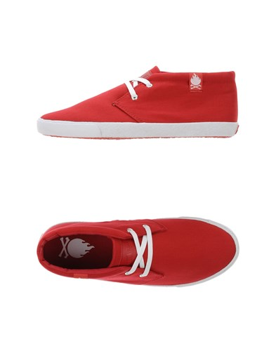 Bobbie Burns Sneakers Red hsutL7w