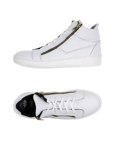 NBR1 Footwear High Tops And Sneakers White yx47Ft64
