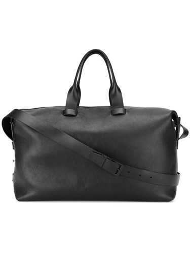 Troubadour Weekender Holdall Leather Black vW0aqzccap