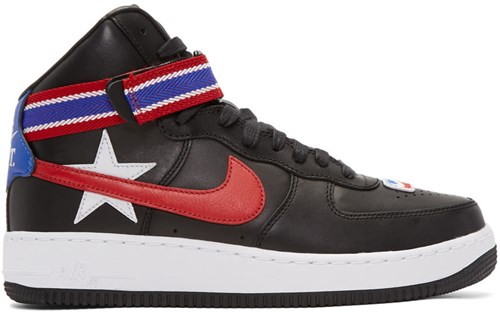 Nike Nikelab Black Riccardo Tisci Edition Air Force 1 High Sneakers 0Uim8