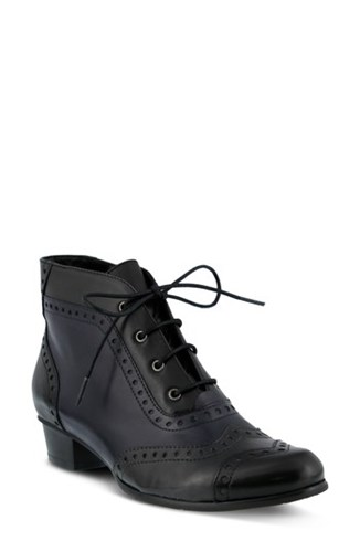 Bootie Spring Heroic Step Black Multi Women's Leather aqq1Ctw