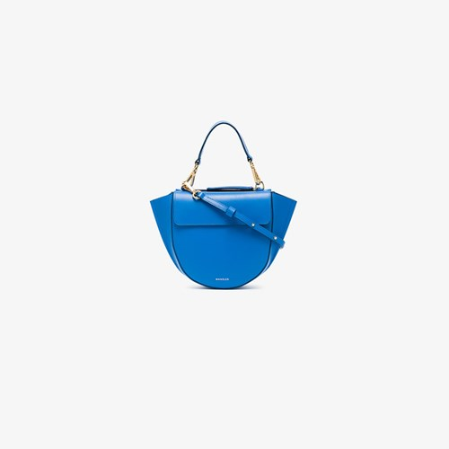 Wandler Blue Hortensia Shoulder Bag uZZlUYJ0K