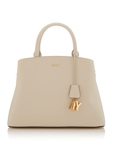 DKNY Paige Large Dome Tote White UaHfG2S