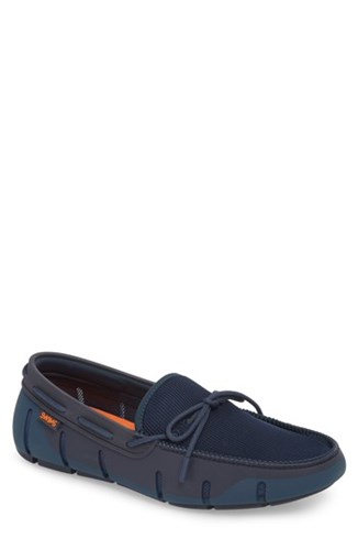 Fleck Poseidon Lace Stride Navy Swims Fabric Loafer xPXqHtf