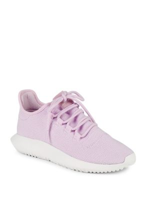adidas Girl's Woven Lace Up Trainers Pink uWAil