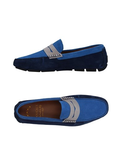 Doucal's Loafers Azure P48l5mVa