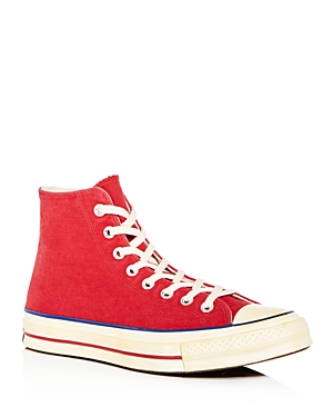 Converse Men's Chuck Taylor All Star 70 Vintage High Top Sneakers Red Blue vVEniEUs