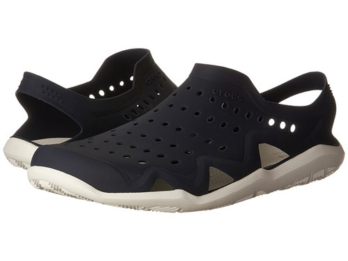 Crocs Swiftwater Wave Navy White Sandals Blue aAoIyJ