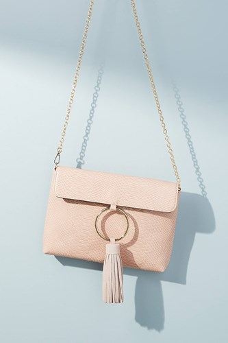 Anthropologie Recharged Ring Clutch Rose OUvDmyRC