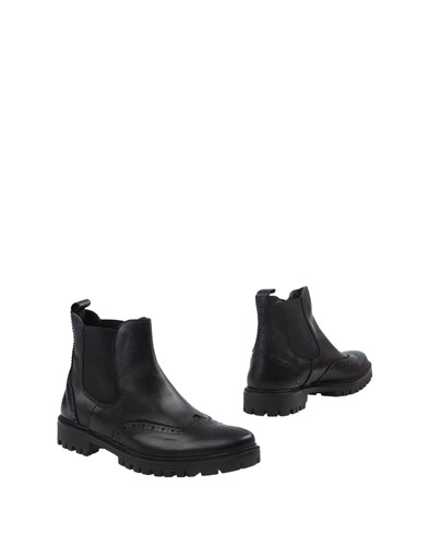 BAGE Ankle Boots Black XCgNFEJm96