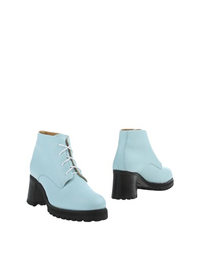 L'f Shoes Ankle Boots Sky Blue u6MFOm