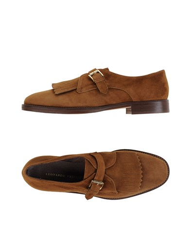 Leonardo Principi Loafers Brown R5YSt2