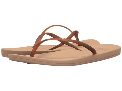 Reef Escape Lux Tortoise Nude Tortoise Sandals Brown C2KM4Lrmc