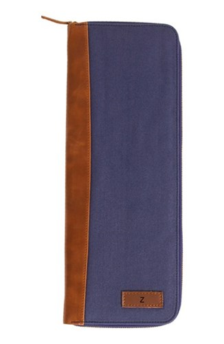 Cathy's Concepts Men's Monogram Tie Case Blue Navy Z 1F7e4E1xo5