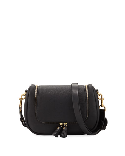 Bag Leather Satchel Anya Vere Hindmarch Black Small CgBwXq