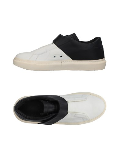Leather Crown Sneakers White HIvxw