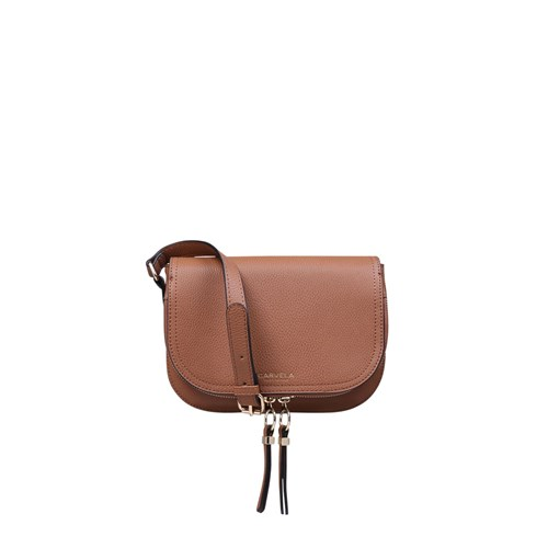 Carvela Soula Saddle Zip Xbodybags Brown WXK4x1Tscu