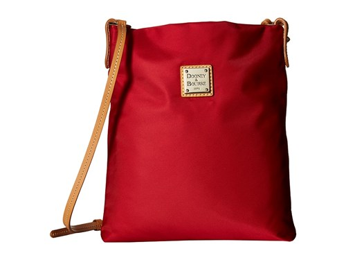 Dooney & Bourke Miramar Small Dani Crossbody Red Btrsctch Trim Cross Body Handbags POLwD