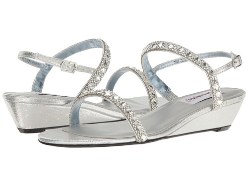 Touch Ups Jasmine By Dyeables Silver Shimmer Shoes sKDyHMsq