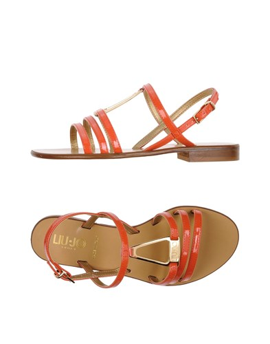 Liu Jo Shoes Sandals Coral xQ47f5hG