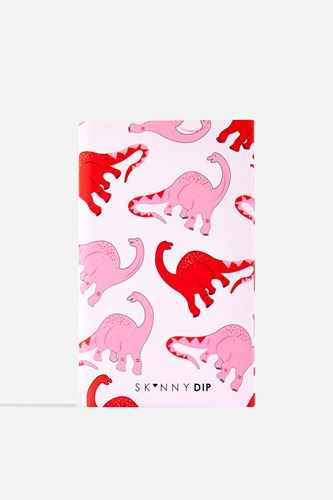 Topshop Pink Dinosaur Print Portable Charger By Skinnydip London Multi wyRzF7i