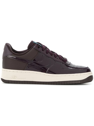 Nike Air Force 1 '07 Se Premium Sneakers Leather Patent Leather Polyamide Rubber Pink Purple wwCILMtt8r