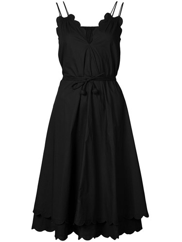 Scallop Apiece Apart Dress Black Mirage 4Y4axpqf