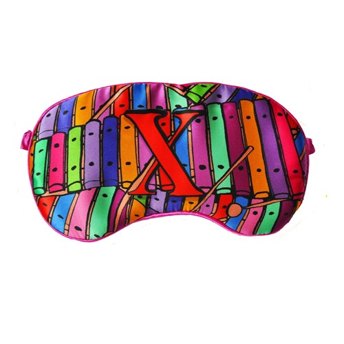 Jessica Russell Flint X Is For Xylophone Silk Eye Mask In Gifbox csbN5DX