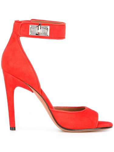 Givenchy Shark Sandals Red oJYIC584rr