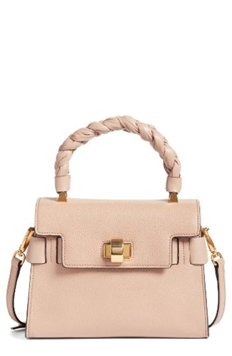 Miu Satchel Top Leather Madras Handle Miu apq6YAY