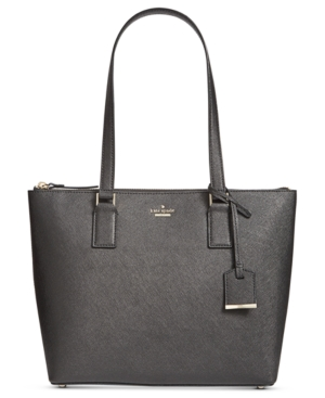 Black Cameron Spade York Small Street Lucie Tote New Kate Hqtnx8q