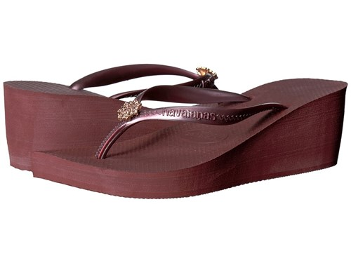 Havaianas High Fashion Poem Flip Flops Grape Wine Sandals Purple GjY3bYkkh