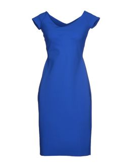 La Petite Robe di Chiara Boni Knee Length Dresses Bright Blue UtTb0M5
