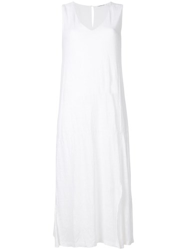Side Midi White Slit Dress Transit pd0Twqw