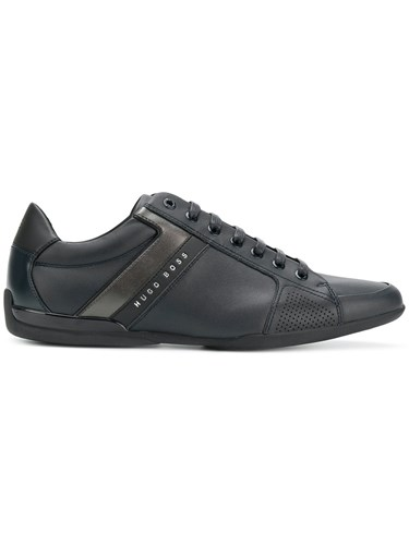 Hugo Boss Lace Up Sneakers Blue wKzEX