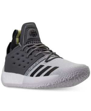 adidas Men's Harden Vol.2 Basketball Sneakers From Finish Line Silver Black 7wcr7CyN