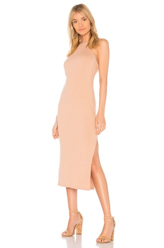 Rachel Pally Rib Donatella Dress Tan De7Xg2yJ6
