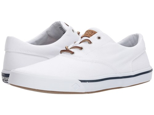 Sperry Striper Ii Cvo Washed White Shoes TYALRQziM
