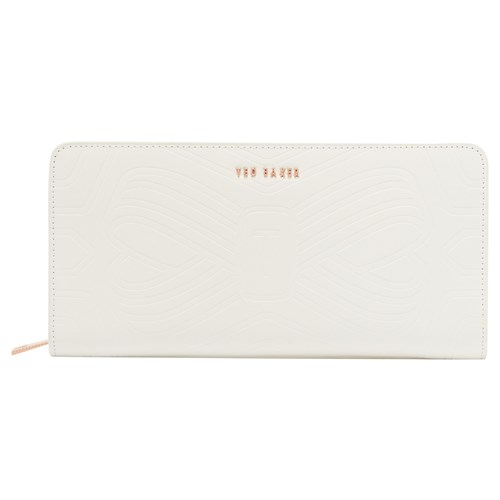 Ted Baker Mellvna Leather Bow Matinee Purse Ivory Tp1L5tX4tr