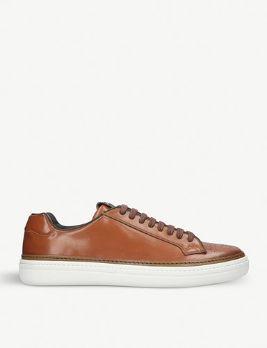 Church's Mirfield Leather Trainers Tan TMgNIi2