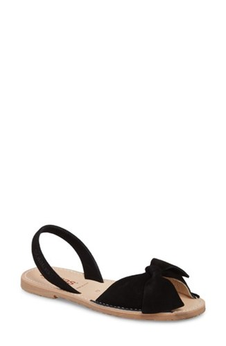 SOLILLAS Bow Sandal Black JWI1Ikmou