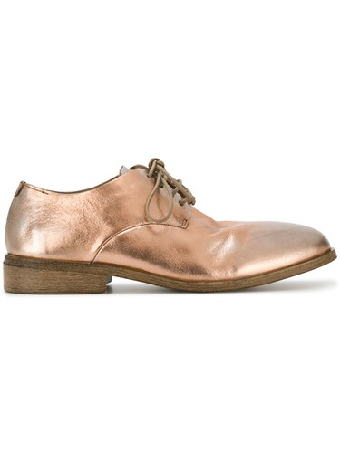 Marsèll Metallic Grey Derby Shoes Calf Leather Leather a3P0iLg