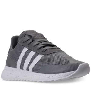 adidas Women's Flashback Casual Sneakers From Finish Line Grey White Grey BUUbfRzA