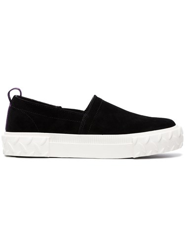 Eytys Viper Suede Slip On Sneakers Black Bspv1wI9D