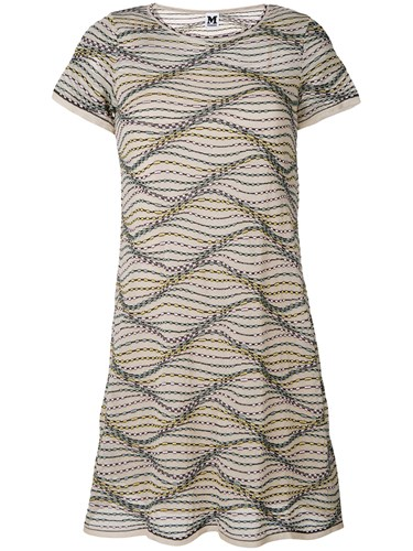 M Missoni Multi Dress Nude And Neutrals cME6yht