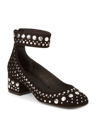Cecelia New York Lukas Studded Pumps Black xmkUNIw