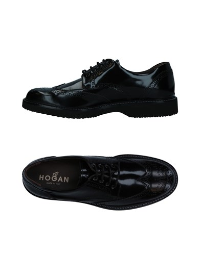 Hogan Lace Up Shoes Black H2vN4BW