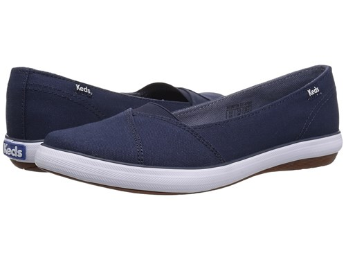 Keds Cali Ii Canvas Navy Women's Flat Shoes nAmEe