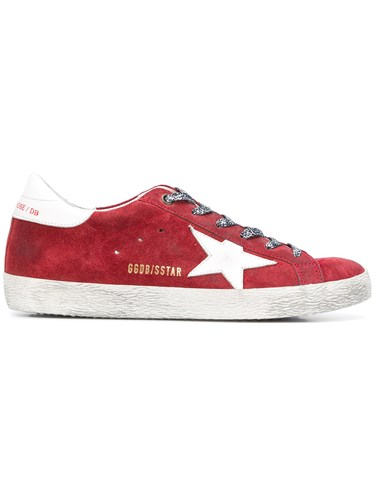 Golden Goose Deluxe Brand Superstar Sneakers Red q5nKG